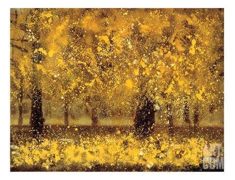 Golden Age Stretched Canvas Print