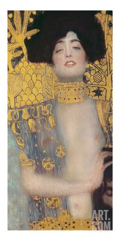 Judith, 1901 (Oil on Canvas) Stretched Canvas Print