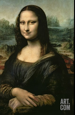 Mona Lisa, c.1507 Stretched Canvas Print