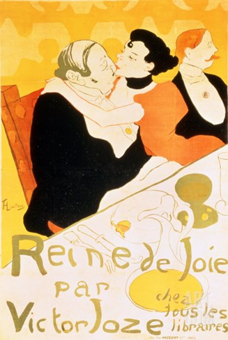 Reine De Joie, 1892 Stretched Canvas Print