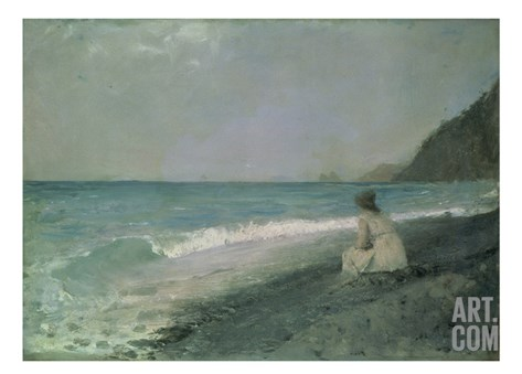 Iphigenia at Tauris, 1893 Stretched Canvas Print