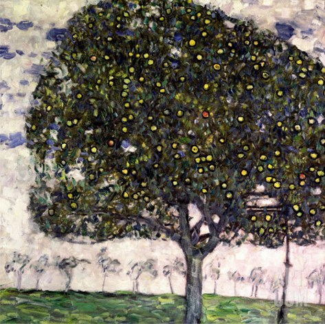 The Apple Tree, 1916 Stretched Canvas Print
