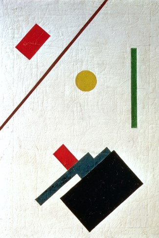 Suprematist Composition, 1915 Stretched Canvas Print