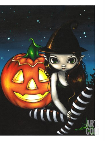Halloween Night Stretched Canvas Print