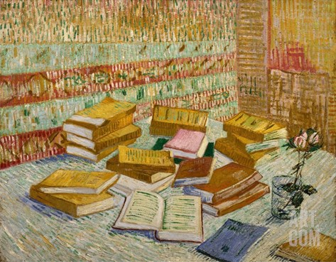 The Parisian Novels (The Yellow Books) Stretched Canvas Print