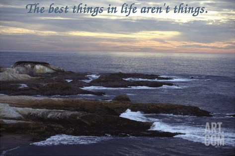 Best Things 1 Photo-Poster 209W Stretched Canvas Print