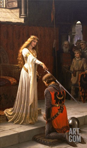 The Accolade, 1901 Stretched Canvas Print