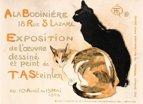A la Bodiniere, 1894 Stretched Canvas Print