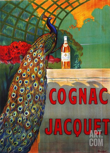 Cognac Jacquet, circa 1930 Stretched Canvas Print