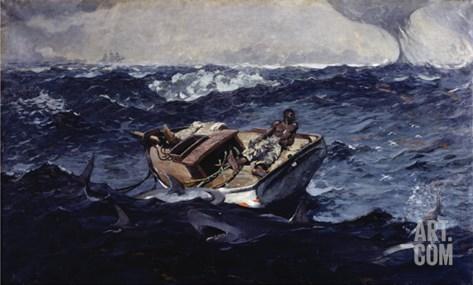 Gulf Stream Stretched Canvas Print