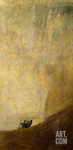 The Dog, 1820-23 Stretched Canvas Print