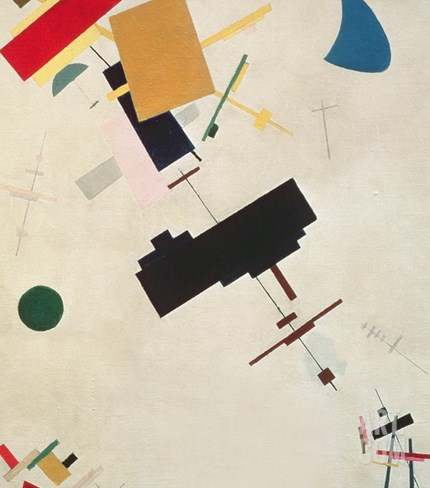 Suprematist Composition No.56, 1916 Stretched Canvas Print