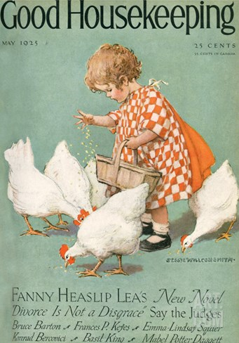 Good Housekeeping, May 1925 Stretched Canvas Print