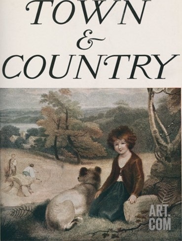 Town & Country, February 14th, 1914 Stretched Canvas Print