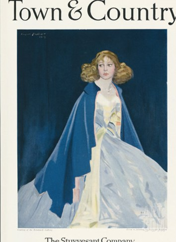 Town & Country, July 10th, 1919 Stretched Canvas Print