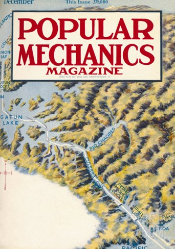Popular Mechanics, December 1913 Stretched Canvas Print