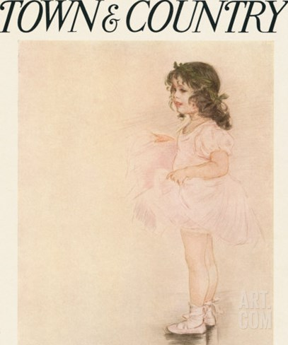 Town & Country, April 18th, 1914 Stretched Canvas Print