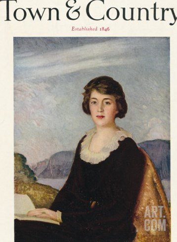 Town & Country, February 15th, 1922 Stretched Canvas Print