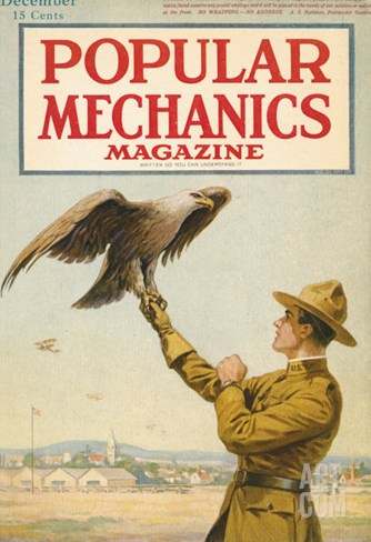 Popular Mechanics, December 1917 Stretched Canvas Print