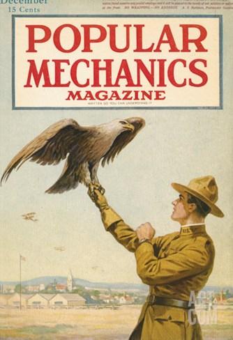 Popular Mechanics, December 1917 Stretched Canvas Print