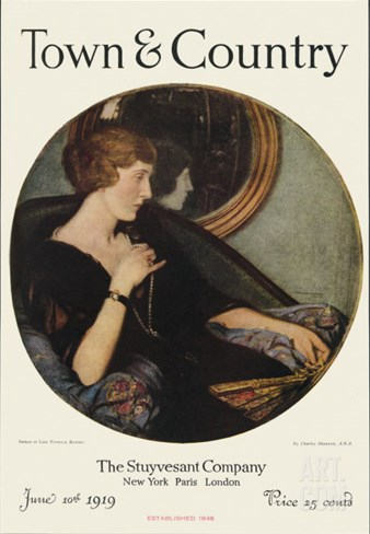 Town & Country, June 10th, 1919 Stretched Canvas Print