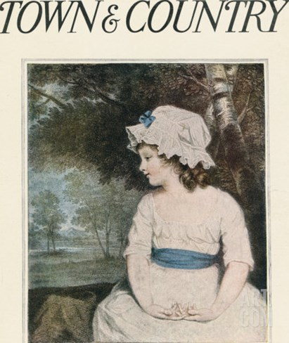 Town & Country, July 25th, 1914 Stretched Canvas Print