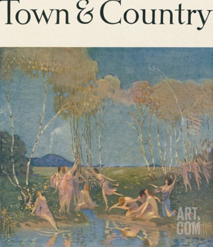 Town & Country, July 20th, 1916 Stretched Canvas Print