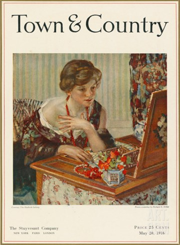 Town & Country, May 20th, 1916 Stretched Canvas Print