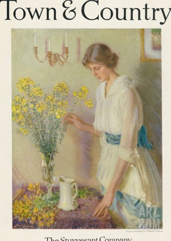 Town & Country, May 20th, 1918 Stretched Canvas Print