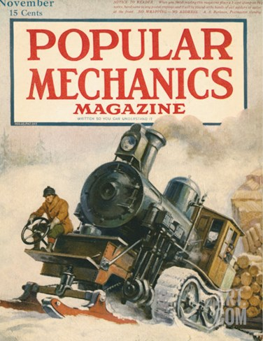 Popular Mechanics, November 1917 Stretched Canvas Print
