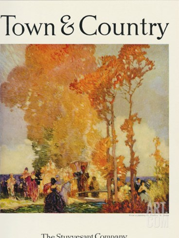 Town & Country, May 20th, 1921 Stretched Canvas Print
