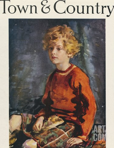 Town & Country, March 20th, 1920 Stretched Canvas Print