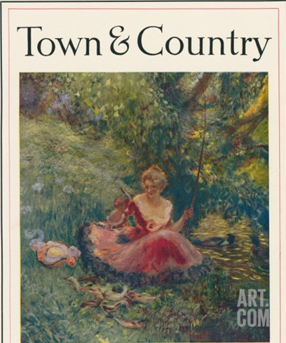 Town & Country, August 10th, 1915 Stretched Canvas Print