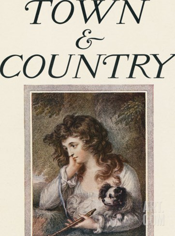 Town & Country, July 18th, 1914 Stretched Canvas Print