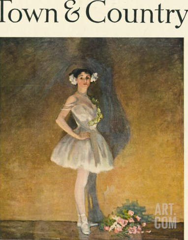 Town & Country, February 10th, 1917 Stretched Canvas Print