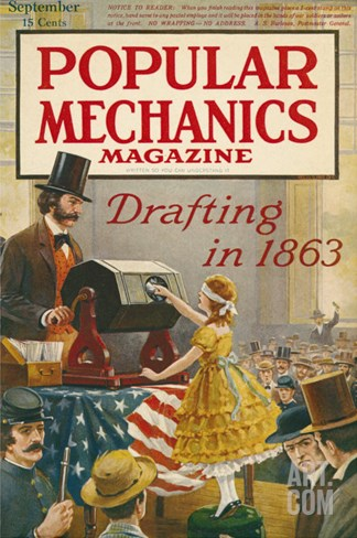 Popular Mechanics, September 1917 Stretched Canvas Print