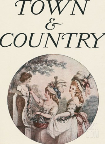 Town & Country, July 11th, 1914 Stretched Canvas Print
