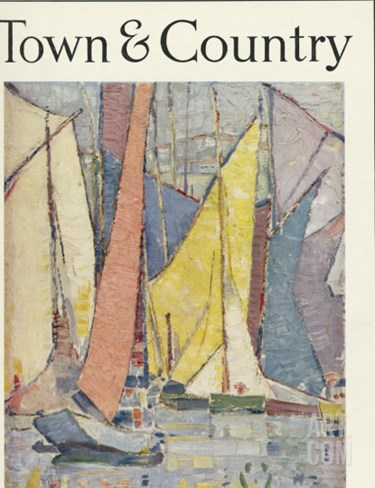 Town & Country, July 10th, 1920 Stretched Canvas Print