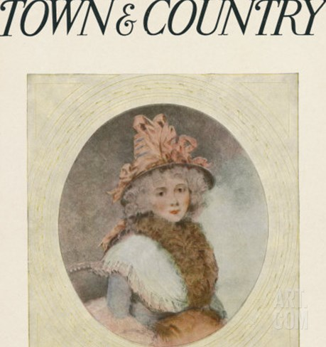 Town & Country, November 14th, 1914 Stretched Canvas Print