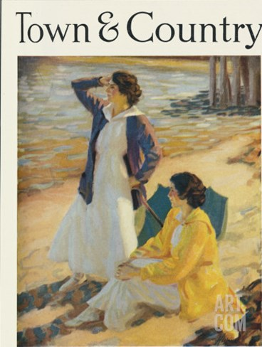 Town & Country, September 1st, 1920 Stretched Canvas Print
