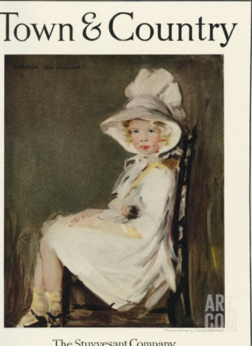 Town & Country, November 10th, 1921 Stretched Canvas Print