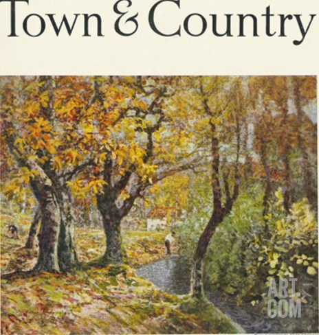 Town & Country, October 1st, 1920 Stretched Canvas Print
