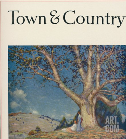 Town & Country, September 10th, 1916 Stretched Canvas Print