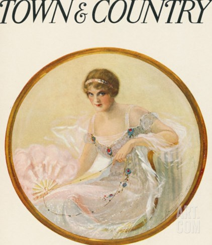 Town & Country, December 19th, 1914 Stretched Canvas Print