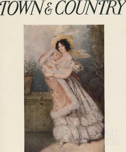 Town & Country, September 19th, 1914 Stretched Canvas Print