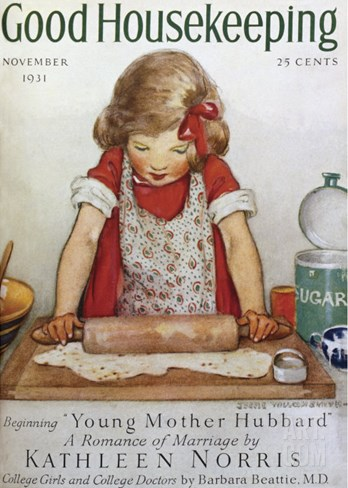 Good Housekeeping, November, 1931 Stretched Canvas Print
