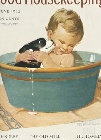 Good Housekeeping, June, 1932 Stretched Canvas Print