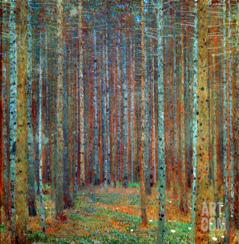 Tannenwald (Pine Forest), 1902 Stretched Canvas Print