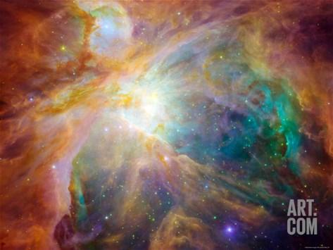 Orion Nebula Stretched Canvas Print