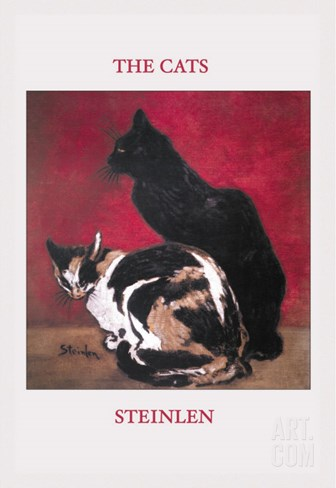 The Cats Stretched Canvas Print